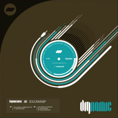 Cover DIY001 - Solomun EP - Front