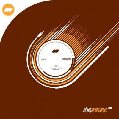 Cover DIY007 - Rhythms, Themes & Harmonies EP