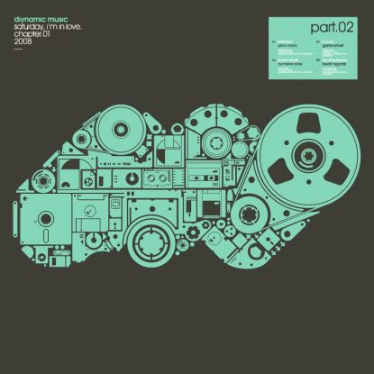 Cover DIY021 - Saturday I'm In Love 2 EP