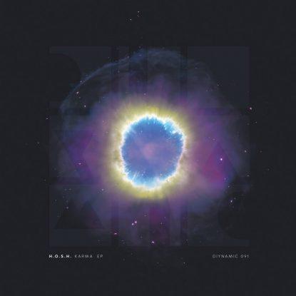 DIY91 - H.O.S.H.-KARMA_EP Front (2500x2500)72dpi